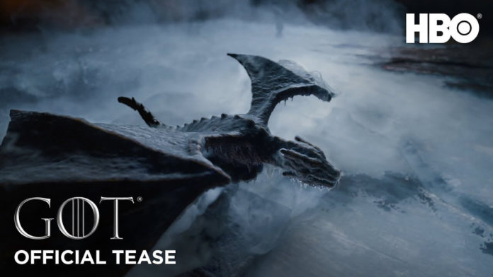 teaser da 8ª temporada de Game Of Thrones
