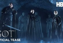 estreia da 8ª temporada de Game of Thrones