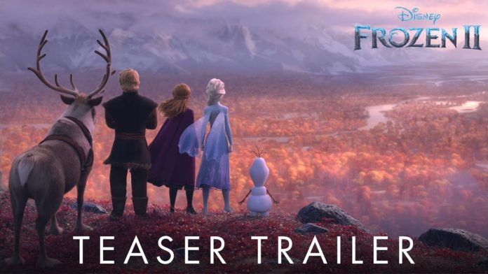 teaser trailer Frozen 2
