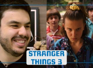 Stranger Things 3 trailer react